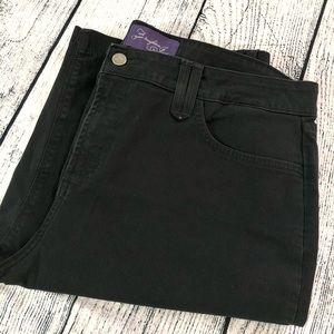 NYDJ, black bermuda shorts, 16
